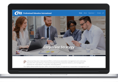 Website For An Association Management Firm